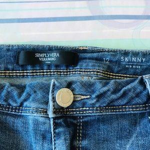 Vera Wang jeans size 12